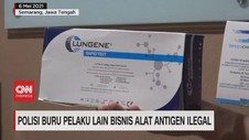 VIDEO: Polisi Buru Pelaku Lain Bisnis Alat Antigen Ilegal