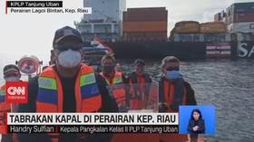 VIDEO: Tabrakan Kapal Di Perairan Kep. Riau