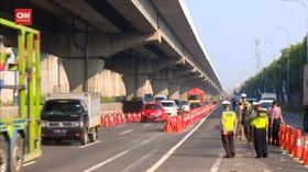 VIDEO: 500 Kendaraan Dipaksa Putar Balik di GT Cikarang Barat