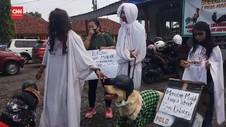 VIDEO: Ada Pocong dan Kuntilanak Yang  Akan Cegat pemudik