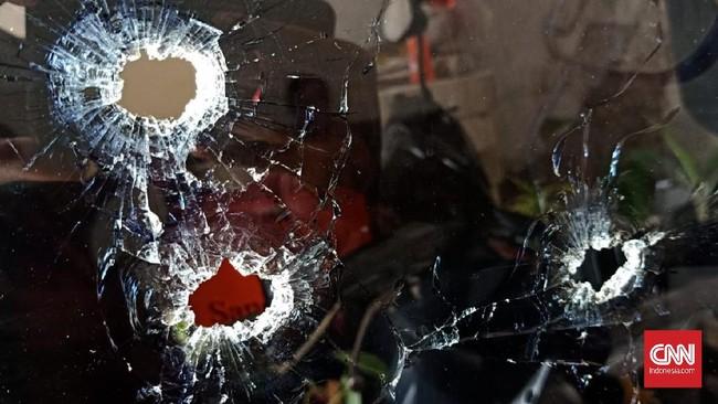 Rumah Warga Sidoarjo Ditembak Orang Tak Dikenal