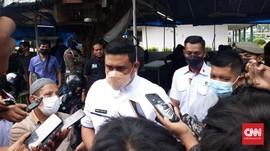 Bobby Nasution Tutup 32 Titik Jalan Medan Saat Malam Takbiran