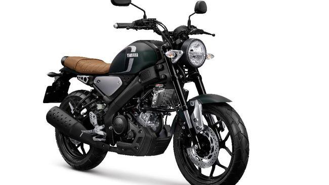 Yamaha menambah warna baru pada XSR 155, Matte Green, untuk menemani opsi sebelumnya Matte Silver dan Matte Black.