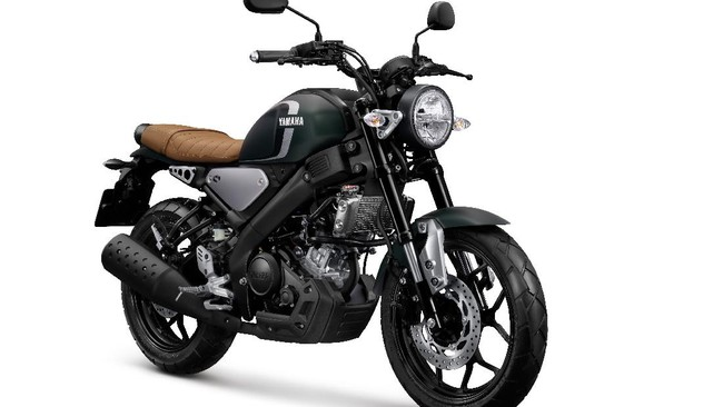 Busana Baru Motor Retro Yamaha XSR 155