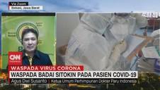 VIDEO: Waspada Badai Sitokin pada Pasien Covid-19