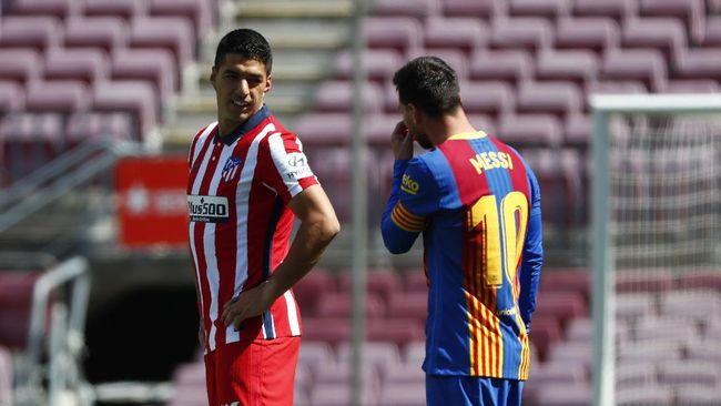 Bintang asal Argentina Lionel Messi mengabaikan Barcelona demi bertemu Luis Suarez dan menjalani liburan bersama jelang musim baru.