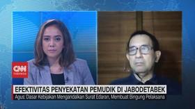 VIDEO: Eektivitas Penyekatan Pemudik di Jabodetabek