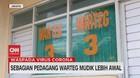 VIDEO: Sebagian Pedagang Warteg Mudik Lebih Awal