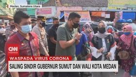 VIDEO: Saling Sindir Gubernur Sumut & Wali Kota Medan