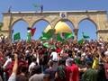 VIDEO: Momen Demo Warga Palestina Sebelum Serbuan Polisi