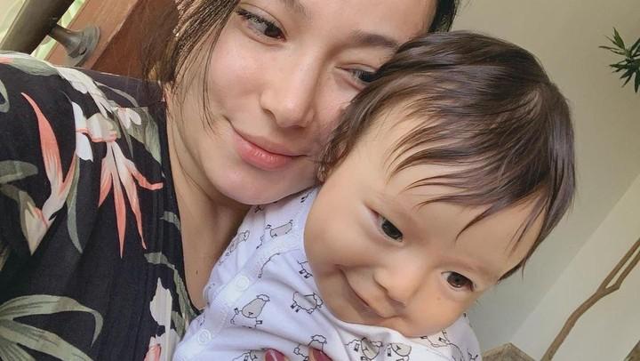 Asmirandah dan Baby Chloe
