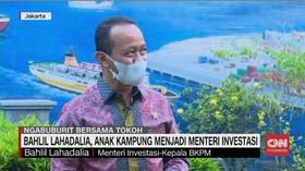 VIDEO: Bahlil Lahadalia, Anak Kampung Jadi Menteri Investasi