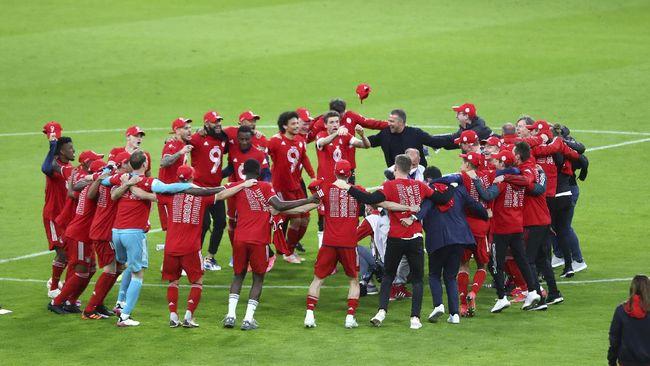 Bayern Munchen memastikan diri jadi juara Bundesliga saat kompetisi masih menyisakan dua pekan lagi.
