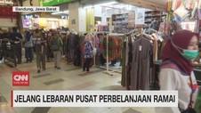 VIDEO: Jelang Lebaran, Pusat Perbelanjaan Ramai