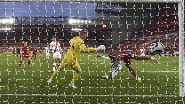 Hasil Liga Inggris: Liverpool Kalahkan Southampton