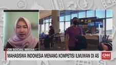VIDEO: Mahasiswa Indonesia Menang Kompetisi Ilmuwan di AS