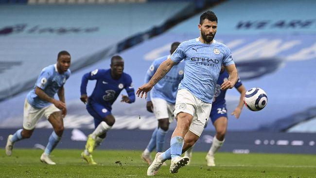 Man City vs Everton: Aguero Terancam Gagal Samai Rekor Rooney