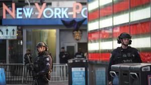 FOTO: Siaga usai Penembakan Times Square New York