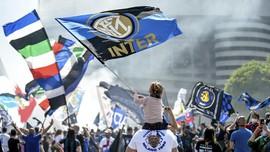 FOTO: Kemeriahan Pesta Juara Serie A Inter Milan
