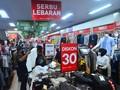 FOTO: Hiruk Pikuk Mal dan Pusat Perbelanjaan Jelang Lebaran