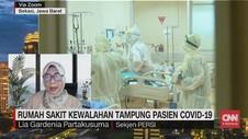 VIDEO: Rumah Sakit Kewalahan Tampung Pasien Covid-19