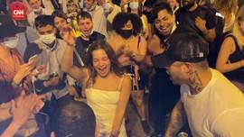 VIDEO: Aturan Jam Malam Berakhir, Warga Madrid Berpesta