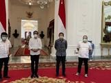 Adian Napitupulu Temui Jokowi, Bahas Vaksin hingga Tanah