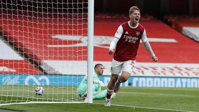 Hasil Liga Inggris: Arsenal Pastikan WBA Degradasi