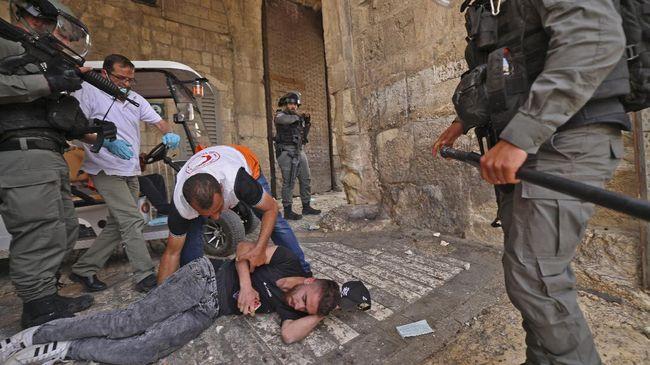 PM Israel, Benjamin Netanyahu, mengklaim bentrokan di Masjid Al-Aqsa, Yerusalem, terjadi karena mereka mempertahankan hak atas kedaulatan wilayah itu.