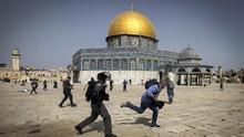 Israel Serang Palestina, #AlAqsaUnderAttack Menggema