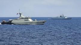 TNI AL Gelar Latihan Bersama AL China di Perairan Laut Jawa