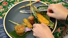 FOTO: Menengok Pembuatan Rendang Tanpa Daging dari Singapura