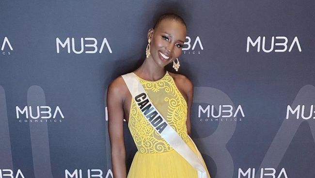 Nona Stevens, perwakilan Miss Universe 2020 Kanada, mengaku mengalami perlakuan rasial di media sosial.