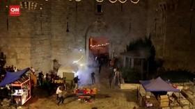 VIDEO: Bentrok Tentara Israel-Warga Palestina di Yerusalem