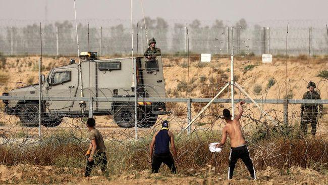 Aksi saling serang antara Israel dan milisi di Jalur Gaza, Palestina, sampai saat ini menelan 217 korban jiwa warga sipil.