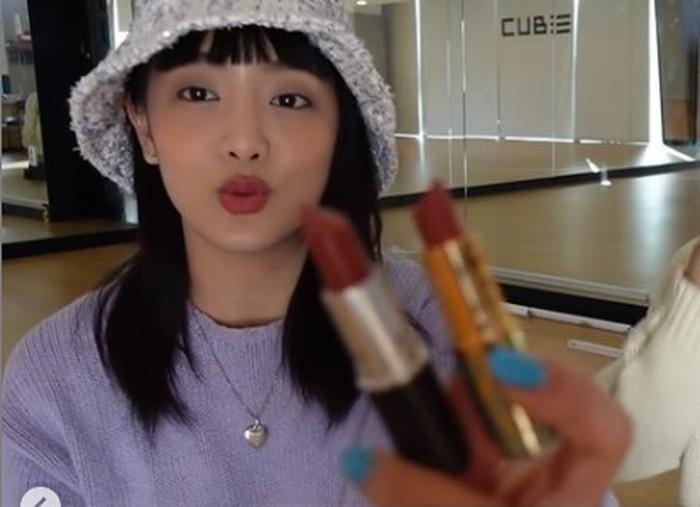 5. Minnie ((G)I_DLE) - MAC / foto: instagram.com/dispatch_beauty