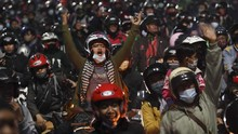 Provokasi Pemudik Jebol Penyekatan di Bekasi, 4 Orang Dibekuk