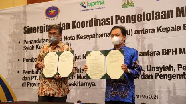 BPH Migas bekerja sama dengan Universitas Syiah Kuala dan PT. Perta Arun Gas untuk melakukan pengembangan dan pengelolaan Migas Aceh dari Hulu hingga Hilir.