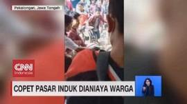 VIDEO: Copet Pasar Induk Dianiaya Warga