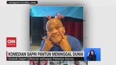 VIDEO: Komedian Sapri Pantun Meninggal Dunia