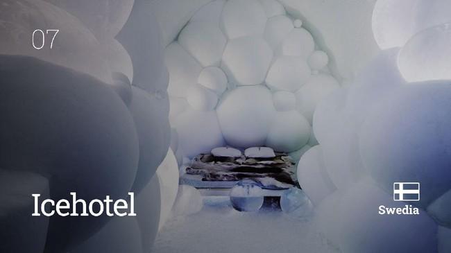 Berikut sepuluh hotel dengan arsitektur yang terlihat tak biasa di dunia.