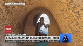 VIDEO: Kakek Membangun Rumah Di Bawah Tanah