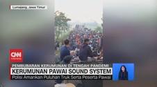 VIDEO: Kerumunan Pawai Sound System