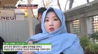 <p>Minzy eks 2NE1 juga pernah mengejutkan penggemar ketika bermain di <em>reality show</em>. Ia terlihat cantik dalam balutan pashmina warna biru pastel. (Foto: Twitter @GlobalMinzy)</p>