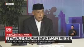 VIDEO: MUI Minta Salat Idul Fitri Tetap Patuhi Prokes