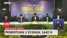 VIDEO: Pemerintah Tetapkan 1 Syawal 1442 H Pada 13 Mei 2021