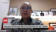 VIDEO: Pengusaha Pertanyakan Efektivitas Penutupan Mal