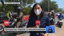 VIDEO: Penyekatan Pemudik Di Kedungwaringin