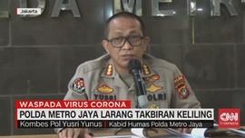 VIDEO: Polda Metro Jaya Larang Takbiran Keliling