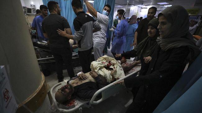 Korban tewas akibat serangan Israel terhadap Jalur Gaza, Palestina, mencapai 197 orang.